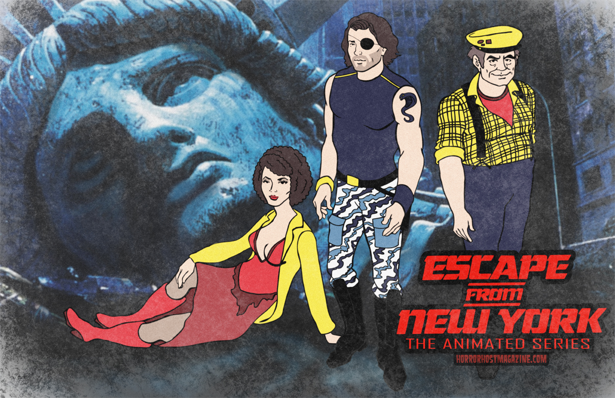 Escape from New York lunchbox Cartoon